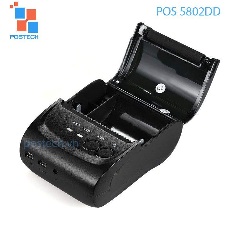 Máy in hóa đơn bluetooth POS 5802DD