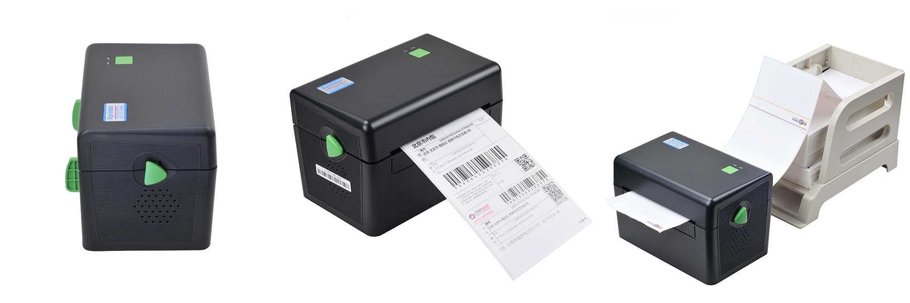 XPRINTER DT108B Lắp các loại giấy khác nhau