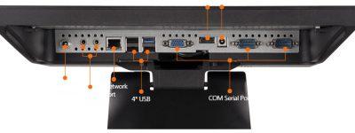 Cổng kết nối của máy pos S1