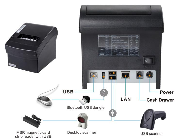 Xprinter XP-T260L (5)